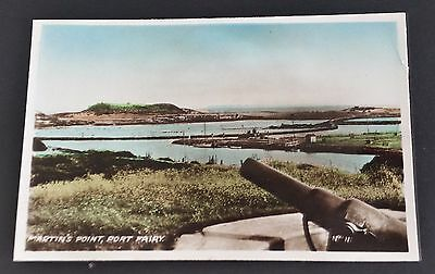 Vintage Port Fairy Photograph of Martins Point Colored