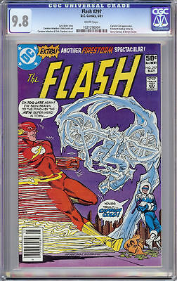 The Flash #297 Cgc 9.8 White Pages Captain Cold