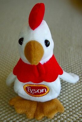 Tyson Foods Chicken Chick Promotion Bean Bag Toy Beanie Baby Collectible RARE