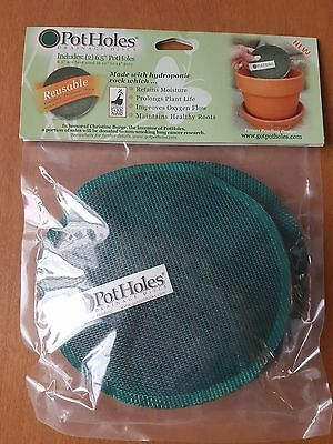 "Pot Holes Drainage Disc Plant Liner for 10 to 14"" Pot Great Stocking Stuffer"