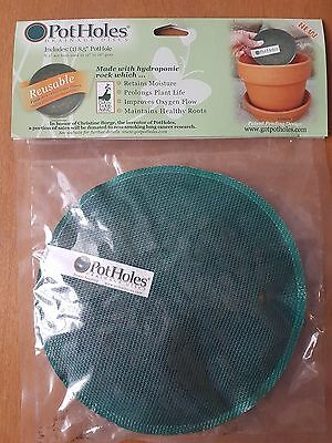 "Pot Holes Drainage Disc Plant Liner for 12 to 18"" Pot Great Stocking Stuffer"