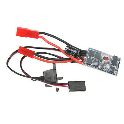 RC Car 10A Brushed ESC Two Way Motor Speed Controller No Brake For 1/16 1/18 1/2