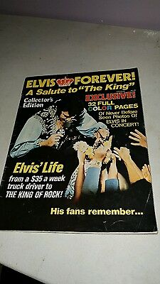 Elvis Forever collectors edition magazine