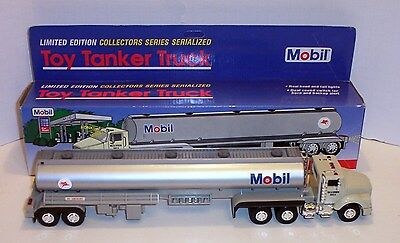 Mobil Toy Tanker Truck  /  New Batteries Included   /  NIB