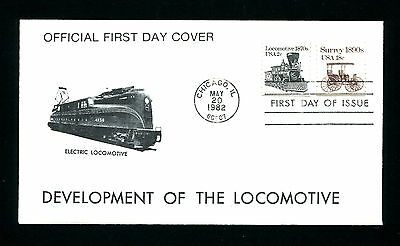 Sc. 1897A 2c Locomotive Transportation Coil FDC - Unknown