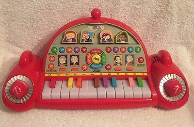 Disney Little Einsteins Pat Pat Rocket Learn And Play Piano VTech