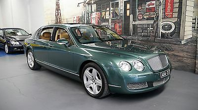 2006 Bentley Continental 3W Flying Spur Green Automatic 6sp A Sedan