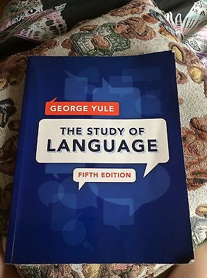 The Study of Language by George Yule (Paperback, 2014)