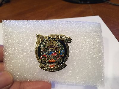 Vintage Harley Davidson Pins Honoluly, Hawaii State Rally