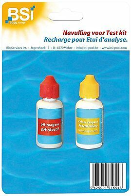BSI Refill + Ph Test Refill for Swimming Pool