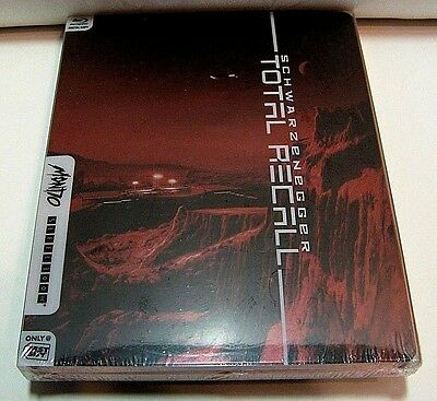 Total Recall from Canada* Mondo art blu-ray steelbook.New and sealed.