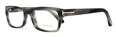 Tom Ford Eyeglasses TF 5239 064 Striped Grey Blend Msrp $440.00 Made in Italy