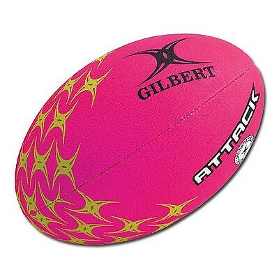 Gilbert ATTACK Rugby Ball - Pink