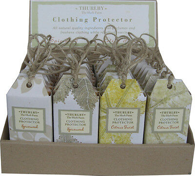 Thurlby Nature Herbal Clothing Protection Citrus Twist and Spicewood Australian
