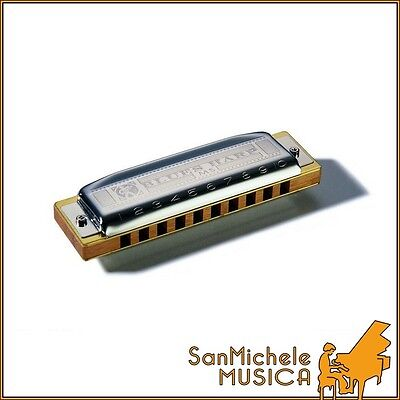 "Armonica Diatonica HOHNER ""BLUES HARP"" - In Re"