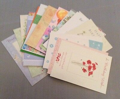 assorted high quality birthday cards ! mixed design ..reduced
