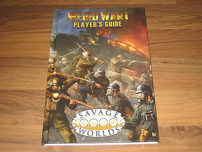 Savage Worlds Weird War I Player's Guide Limited Edition Sourcebook Studio 2 New