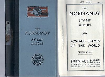 Stamp Album   The Normandy  1948 second edition