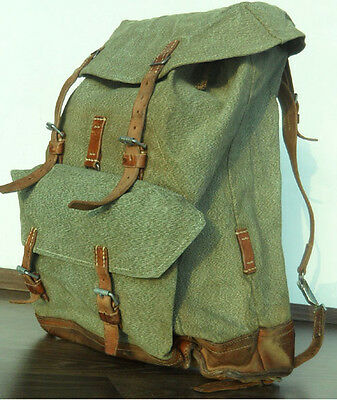 Rarity orginal Vintage Swiss Army Backpack year 1971 fine Quality