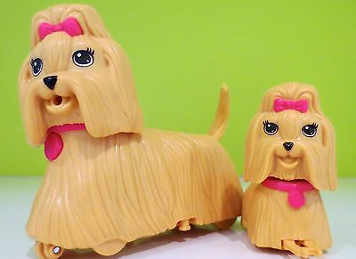 Electronic Barbie Pets 2 Puppy Play Park Dogs Mattel 2011