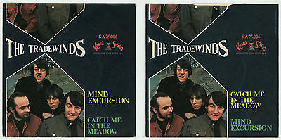 """pop/rock/psych USA : The TRADE WINDS : Mind Excursion - 7"""" ITALY 1967 - rare"""