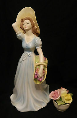 "Coalport figurine from the ladies of fashion series ""Jayne"" - fine bone china"