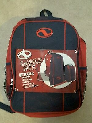 BNWT Backpack 5 pieces