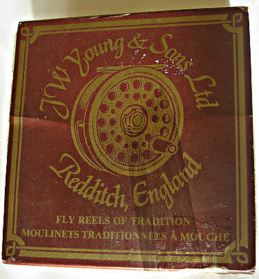 JW Young & Son Fly Reel Model 1560 Redditch, England