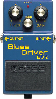 Boss BD-2 Blues Driver - Overdrive Effektpedal