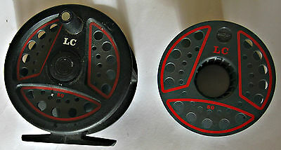 Leeda LC 80 Fly Reel With Spare Spool Made in England