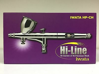 Anest Iwata Hi-Line HP-CH Airbrush Double Action 0.3mm Nozzle 10cc Cup H 4100 JP