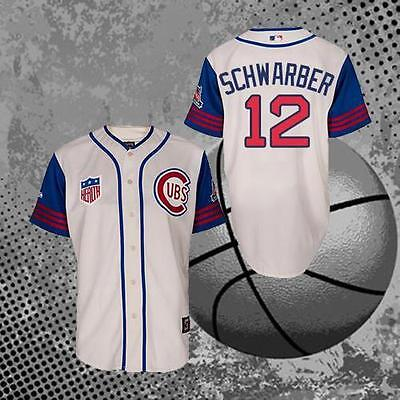 Kyle Schwarber Chicago Cubs 12# Cool Baseball Jersey Men