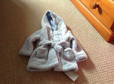 Brand New - Baby Boys Dressing Gown - 6-12 Months