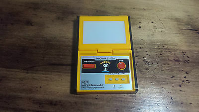 Nintendo Snoopy Game & Watch Panorama Screen SM-91 Handheld Game *WORKING GREAT*