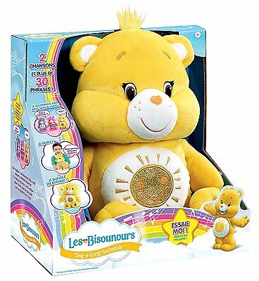 Care Bears Funshine Bear Sing-a-Long Plush Toy - Brand New