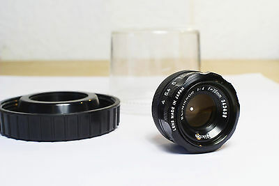 Nikon EL-Nikkor 75mm f4 Enlarger lens with keeper (case) Excellent.