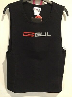 Mens Wetsuit Vest By Gul 1.5mm Bnwt,  Size L , Ideal For Kayaking / Canoeing