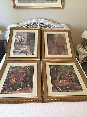 Set of 11, Various pieces of Framed Art, Excellent Condition