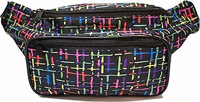 SoJourner Bags Classic Solid Bright Color Fanny Pack (Multiple Colors Available)