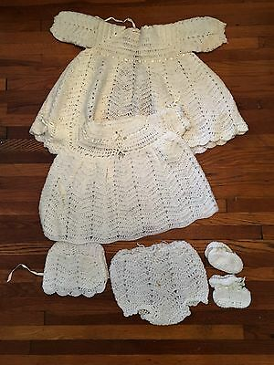 Vintage Christening Baptisimal Outfit