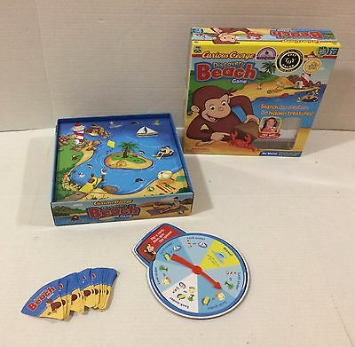PBS Curious George Discovery Beach Game