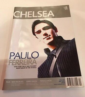 Chelsea FC Official Magazine Issue 4 Dec 2004