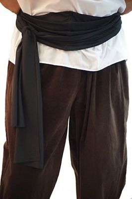 Pirate-Buccaneer-LARP-SCA-Fancy Dress-Panto-Pan PIRATE WAIST SASH 3 Colours