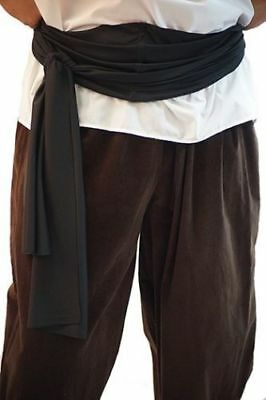 Pirate-Buccaneer-LARP-SCA-Fancy Dress-Panto-Pan PIRATE WAIST SASH All Colours