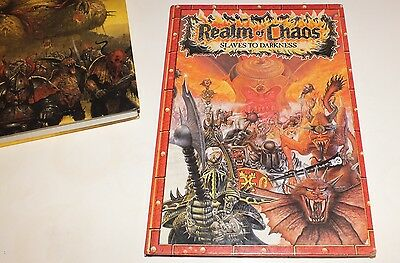 Games Workshop book Warhammer Realm of Chaos: Slaves to Darkness