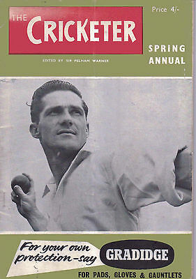 The Cricketer Spring Annual 1961