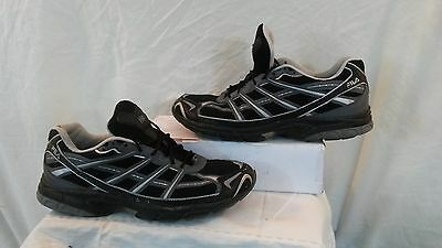 Fila Men's Turin 111 Black Running Shoes/Trainers. Size 11. Used.