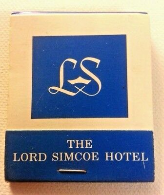 Vintage Matchbook Lord Simcoe Hotel, Toronto, Canada