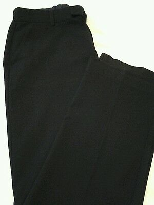 Boys Marks and Spencer Black School Trousers age 13-14