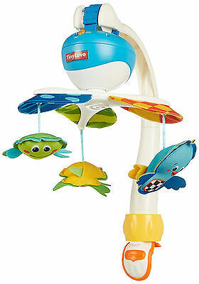 Baby Bed Mobile Fun Toy Cot Musical Carousel Newborn Relax Dangling Animals
